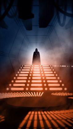 Brilliant Illustrations Feature 'Star Wars' Scenes In Vintage Film Noir Style Nave Star Wars, Star Wars Set, Star Wars Darth, Star Trek, Images Star Wars, Star Wars Pictures, Star Wars Poster, Anakin Vader, Anakin Skywalker