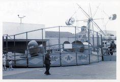 Peter Wellen photograph, Playland at the Beach Amusement Park, circa 1965.