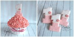 Number One Cookies~                          By Cookies by Missy Sue, pink, ruffles
