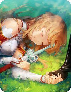 Sword Art Online Asuna, Manga Anime, Anime Expo, I Love Anime, Awesome Anime, Schwertkunst Online, Humour Geek, Otaku, Kirito Asuna