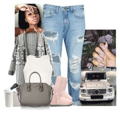 """"""""""" by jemilaa ❤ liked on Polyvore featuring rag & bone/JEAN, UGG Australia, Topshop, Mr. Coffee, Givenchy and Mercedes-Benz"""