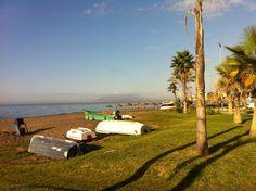 Varadero en la playa de Rincón de la Victoria (Málaga) Varadero, Golf Courses, Victoria