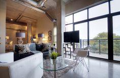 Concrete Ceiling, Concrete Floors, Closet Storage, Locker Storage, Toronto Lofts, Custom Closets, Polished Concrete, Closet Bedroom, Open Concept