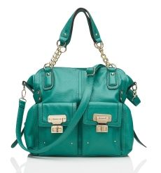 turquoise big bag-forever new.