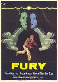 """The Fury"" (1978). Director: Brian De Palma. Cast: Amy Irving, Kirk Douglas, John Cassavetes, Carrie Snodgress"
