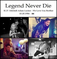 I heard thunder last night and started crying because i know mitch is up there reminding me to keep fighting