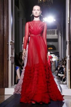 Valentino Fall Winter Couture 2012 Paris. Mark my words, this will be someone's Oscar dress!