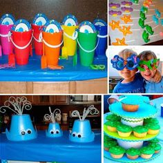 corales para decorar en fiesta - Google Search