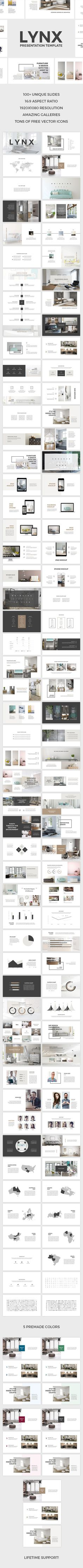 Lynx PowerPoint Template (PowerPoint Templates)