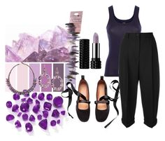 """Amethyst Chic"" by tia2 ❤ liked on Polyvore featuring art"
