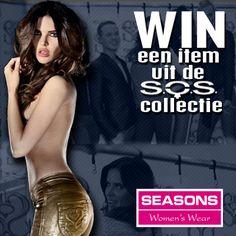 LIKE & SHARE! WIN een item uit de collectie van Sylvia Secrets by SOS! Seasons Mode geeft een item weg uit deze collectie. Wat moet je daarvoor doen? Like & share de pagina en het bericht op www.facebook.com/seasonsnijmegen en WIN dat item!