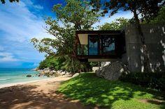 Saved by Shelby White (shelbywhite). Discover more of the best Architecture, Resort, Thailand, Naka, and Phuket inspiration on Designspiration Phuket Resorts, Hotels And Resorts, Piscina Spa, Beachfront Property, Phuket Thailand, Luxury Accommodation, Design Hotel, Luxury Villa, Resort Spa