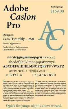 #Adobe_Caslon_pro Typeface File name: adobe caslon a