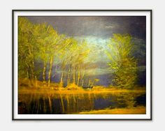 Lights in April (Spring Storm) by Laszlo Mednyanszky - Fine Art Reproduction - Giclee Print