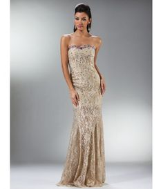 Prom Dresses Gold Hibiscus Lace Mermaid Gown