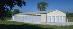 Commercial Building Profile  Use: Commercial post-frame building   Size: 30' x 121' x 9'