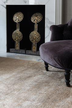 Bamboo Silk Bronze - The Rug Company
