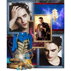 """""""Landon Liboiron as Jim Hawkins and Robert De Niro as John Silver.""""You're gonna rattle the stars, you are!"""" by buscemibabe on Polyvore"""