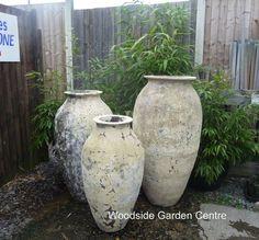 Extra Large Atlantis Roman Jar Decor Feature Pot | Woodside Garden Centre | Pots to Inspire