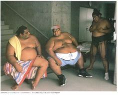 Kyokushuzan, Musa, and Konishiki.