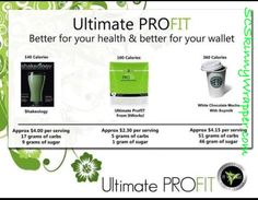 How It Works! ProFit shakes compare to competitors. It Works Global abbieguenther.myitworks.com and facebook.com/abbiegwrapsyouskinny