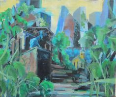Verlassene Stadt (3) Perspective, Painting, Abandoned Cities, City, Pictures, Perspective Photography, Painting Art, Paintings, Paint