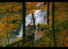 Fall...falls @ Cuyahoga Valley - Brandywine Falls (Akron Cleveland Ohio area)