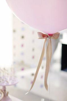 Party in bianco, rosa e oro