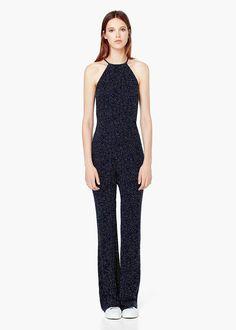 Womens Ladies Celeb Croche Lace Playsuit Wrapover Floral Print Jumpsuit Trouser Gute QualitäT Kleidung & Accessoires