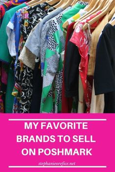10 tips for selling on Poshmark! Help up your Poshmark game and make a little extra money or start your own side hustle! Tips from a part time Posher. Make Money From Home, Way To Make Money, Make Money Online, Money Fast, Primark, Best Clothing Brands, Clothing Websites, What To Sell, Selling On Poshmark