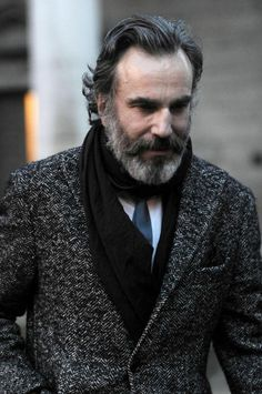 Daniel Day Lewis is Salted and Peppered.