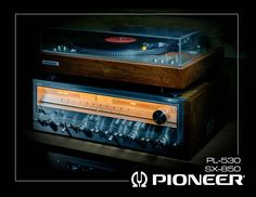 Pioneer SX-850 Receiver and Pioneer PL-530 Turntable