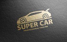Super Car Logo by fastudiomedia on Creative Market