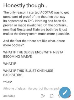 WHAT IF!? Dayuuum, it's getting good ACOMAF ACOWAR ACOTAR *Doesn't know what to do so hits head on wall repeatedly I don't know if I'm ready for Sarah Maas to tear my heart out again.