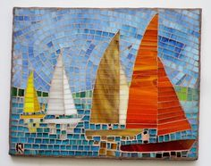 ec526f2e6ac7af2b4be98b27b087e704--sail-boats-mosaic-ideas