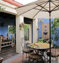 Sandy Koepke Interior Design · Portfolio: Westwood Wall Fountains, Portfolio Design, Gazebo, Outdoor Structures, Patio, Interior Design, Outdoor Decor, Home Decor, Portfolio Design Layouts