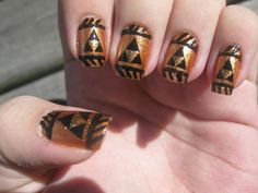 Legend of Zelda Fingernail Art on Global Geek News.