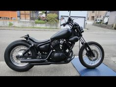 YAMAHA:XV250 Engine Oil Changing+Oil  Filter Changing - YouTube