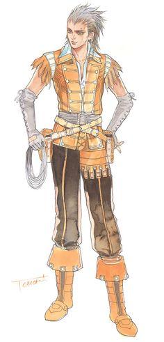 Granado Espada - Male Scout Concept