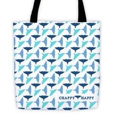 Chappy Happy Whale Tail Tote
