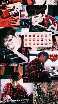 Cr: @_SeventeenLocks on Twitter Red Aesthetic, Kpop Aesthetic, Aesthetic Pictures, Seungkwan, Wonwoo, Jeonghan, Boy Idols, Korean Design, Seventeen Woozi