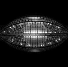 Hemisphere Valencia Spain Santiago Calatrava Black and white Long exposure photography Fine Art Febuary 2017 Valencia Spain, Santiago Calatrava, Ceiling Lights, Fine Art, Black And White, Photography, Blanco Y Negro, Photograph, Black White