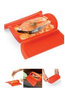 Lekue Steam Case - makes micorwave meals awesome!