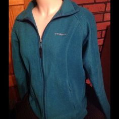 Columbia Jacket M! Womens Columbia jacket size medium green color good condition!! Columbia Jackets & Coats