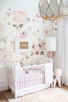 Jolie Wallpaper - The Project Nursery Shop - 5 #LuxuryBeddingPink
