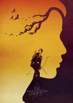 The Hunger Games Art Poster by Jonathan Trier
