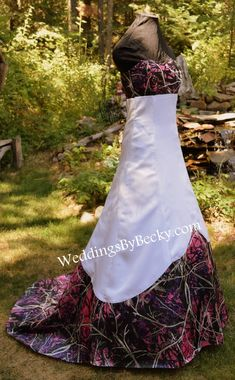 Muddy Girl Camo Wedding dress Sierra Made ONLY in  f67f7b9e8073