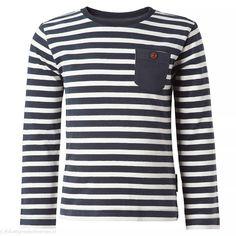 NOPPIES Longsleeve Nori (donkerblauw gestreept) | Noppies kinderkleding Long Sleeve, Sleeves, Sweaters, Mens Tops, T Shirt, Baby, Fashion, Supreme T Shirt, Moda