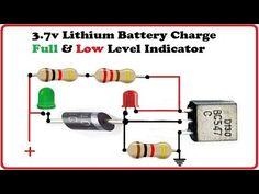 Volts Battery Low and Full Level Indicator Circuit Electronic Circuit Design, Electronic Engineering, Electronics Basics, Electronics Projects, Componentes Smd, Battery Charger Circuit, Netflix Gift Card, Electrical Circuit Diagram, Simple Circuit