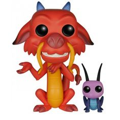 Figurine POP! Mushu & Cricket - Mulan